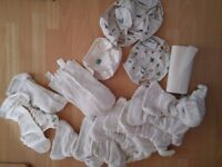 Cloth nappy stash (Tot bots and MotherEase)