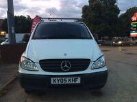 2005 Mercedes Vito Van 6 Speed Long Mot Central Locking 2xRemote Keys Cruise Roof Rack