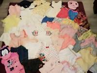 9-12 months Preloved Summer Baby Clothes Bundle