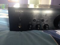 Denon amp pma 520 ae for sale only a year old