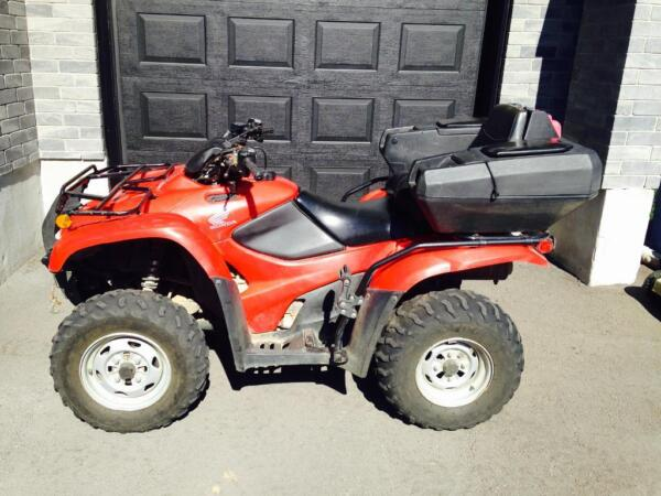 Used 2009 Honda TRX 420 FG Canadian trail