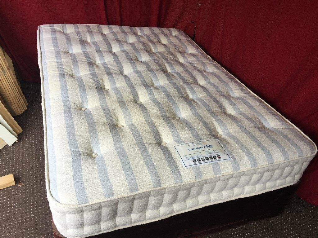 MILLBROOK ORTHCARE 1400 POCKET SPRING DOUBLE MATTRESS,CAN DELIVER
