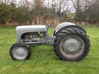 1950 Ferguson TED Tractor