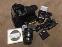 Nikon D90 + nikkor 60mm f2.8 D lens + sigma DC 18-200mm 3.5-6.3 HSM + SB600