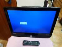 """Tv LCD with remote control 19"""" with bracket"""