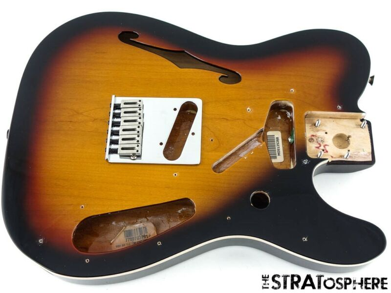 2020 Fender Deluxe Thinline Telecaster Tele BODY & HARDWARE 3 Color Sunburst