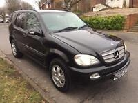 2003/03 Mercedes Benz ML 270 CDI...7 Seater...Service History...Starts & Drives...Bargain!!!