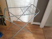 Camping folding washing up stand