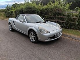 Toyota MR2 1.8 VVT-i Roadster. Excellent condition and full service history.