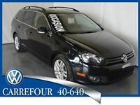 2011 Volkswagen Golf Wagon TDI Highline Cuir+Toit Pano. Automati