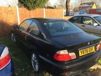 BMW 318ci spare and repair