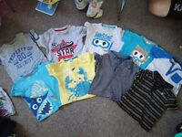 Baby boy clothes bundle size 6-9 and 9-12 months