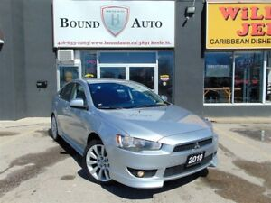2010 Mitsubishi LANCER SPORTBACK GTS|H-SEATS|B-TOOTH|ALLOYS|C-CO