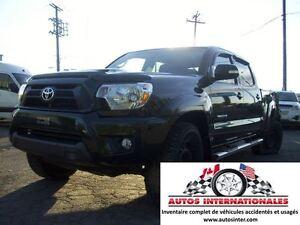 2013 Toyota Tacoma TRD SPORT CREWCAB 4X4 V6 BALLON OK EN MARCHE