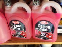 Car plan demon shine spray gin