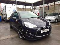 CITROEN DS3 D-Style+ 1.6 hdi, 2013 **TOP SPEC**LOW MILES**NEW M.O.T**VERY CLEAN CAR**BARGAIN!!