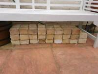 26 bricks, sandy yellow colour, Exeter