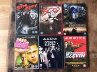 DVDs £2 each or 12 for £20