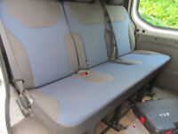 A QUALITY BENCH SEAT AS NEW 3 SEATER WITH ALL BELTS