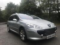 PEUGEOT 307 ESTATE ** 136BHP** DIESEL** MOT EXPIRES AUGUST 2019** PANORAMIC ROOF** SERVICE HISTORY**