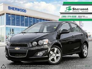 2016 Chevrolet Sonic LT Sunroof/Alloys/heated Seats & Remote Sta