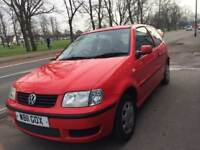 VOLKSWAGEN POLO 1.0 E 3DR 1.0 PETROL 3 DOOR HATCHBACK RED