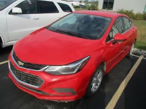 2017 Chevrolet Cruze LT REAR CAMERA! HEATED SEATS! REMOTE START!