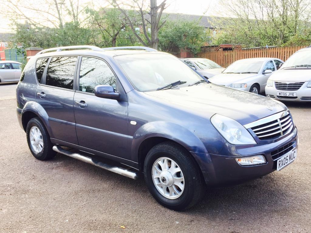 SSANGYONG REXTON 2.7 DIESEL GREAT RUNNER NATIONWIDE DELIVERY 1595