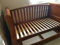 Cotbed solid in a very good condition