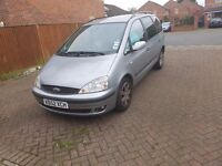 NEED GONE TODAY QUICK SALE!! 2002 LPG CONVERTED FORD GALAXY £450