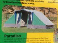 """Relum"" vis-a-vis style frame tent"