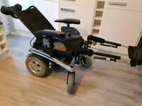 Pride Fusion r40 powerchair tilt recline power chair electric wheelchair