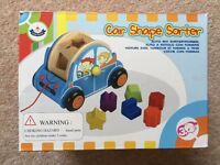 Great kids toy! Wooden Toys - Rolling Car Shape Shorter