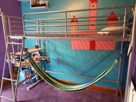High sleeper bed -Excellent condition £50