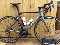 Cycle road bike Pinarello F8 dogman 54cm full Pinarello warranty Ultegra R8050 electronic DI2
