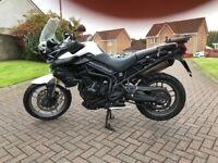 TRIUMPH TIGER 800 FULLY SERVICED