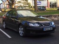 2006 SAAB 93 1.9 TiD DIESEL SALOON * H/LEATHER * LONG MOT * PART EX * DELIVERY * GOOD RUNNER *