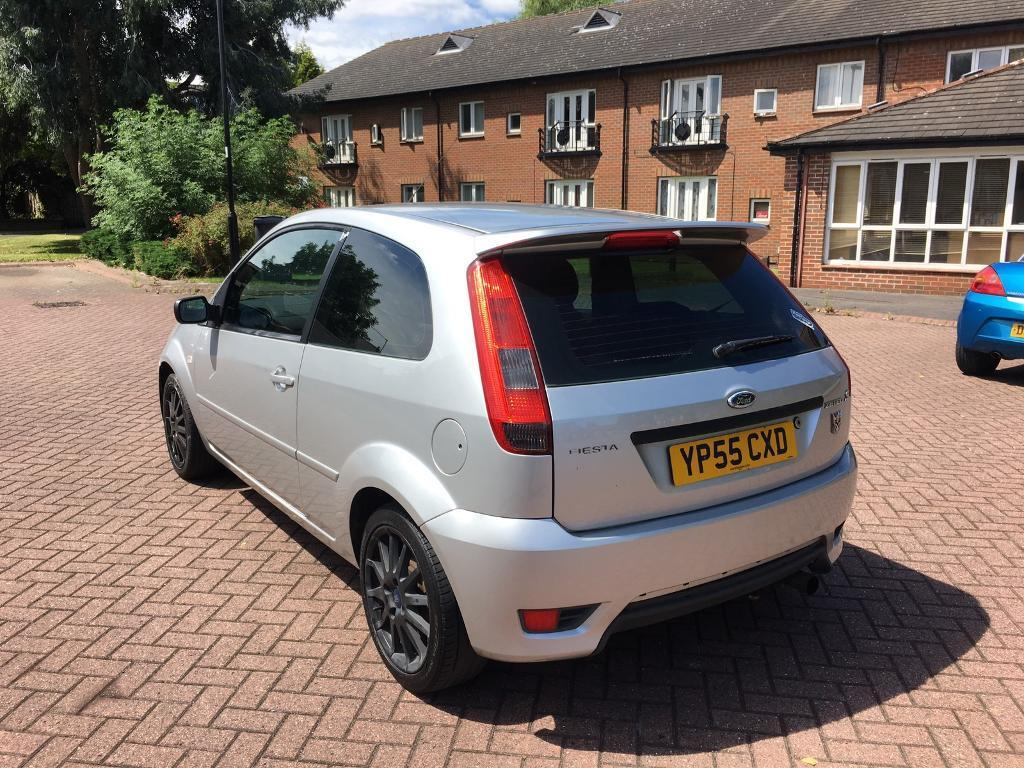 2005 55 ford fiesta 1 6 zetec s silver induction kit and exhaust