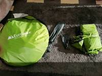 4 birth pop up tent eurohike pop 400 ds