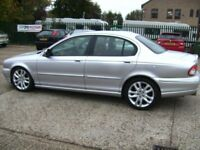 2001 JAGUAR X-TYPE WITH FULL LEATHER