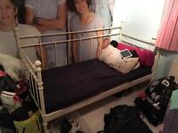White bed,desk & bedside table for free
