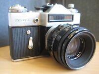 Used Zenit-E 35mm Camera