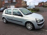 RENAULT CLIO 1.2 2003 (ONLY 88000 MILES) MOT JULY 2017 IMMACULATE FIESTA ASTRA CORSA MICRA PUNTO 107