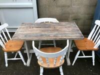 Table and 4 chairs FREE DELIVERY PLYMOUTH AREA