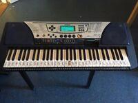Yamaha Keyboard - Sold as seen