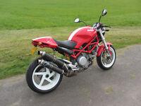 Ducati Monster s2r 800 (2005-55 plate)