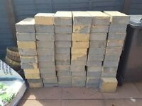 60-or-so breeze blocks/concrete bricks - FREE