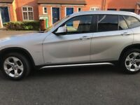 BMW X1 Silver xdrive 2010