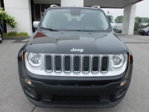 2017 Jeep Renegade JEEP LIMITED AWD CUIR TOIT OUVRANT NAV
