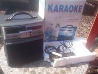 KARAOKE machine NEW AND UNUSED IN BOX WITH MIC £25 (Sherwood)